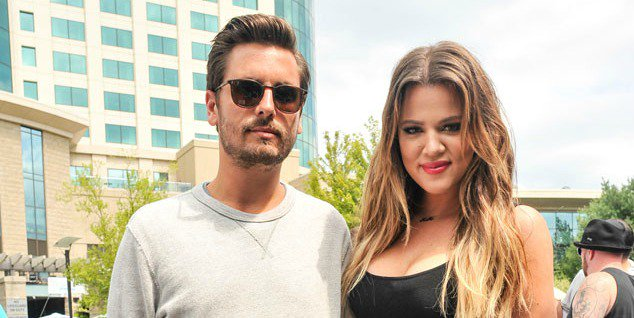 Oh, boy: Scott Disick has his fingers crossed he's the father of Khloe Kardashian's baby.