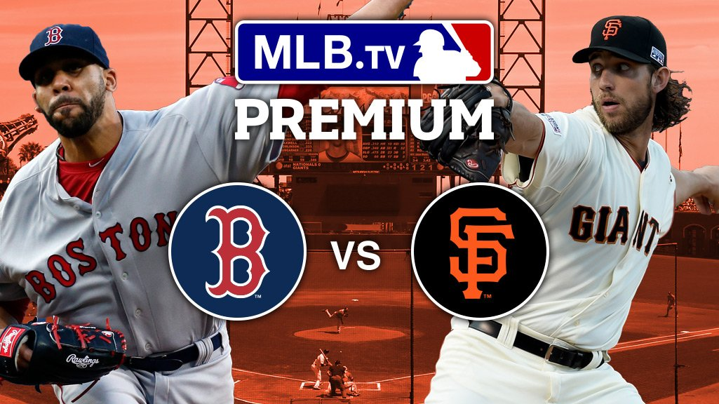 .@DAVIDprice24. Madison Bumgarner.  Two studs battle out west at 10:15 ET on #MLBTV.  https://t.co/pDJzRJpP9D https://t.co/lB5oVUfwUT