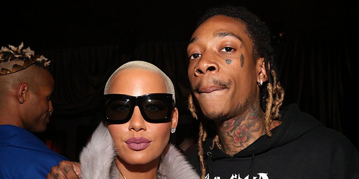 Amber Rose celebrated with ex Wiz Khalifa at a strip club amidst divorce settlement
