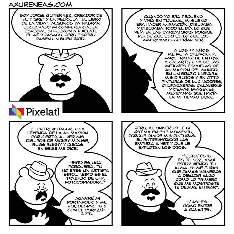 .@Pixelatl parte 5, minicomic sobre el Festival de animación,videojuegos y cómic de Cuernavaca https://t.co/1VXbycICOG