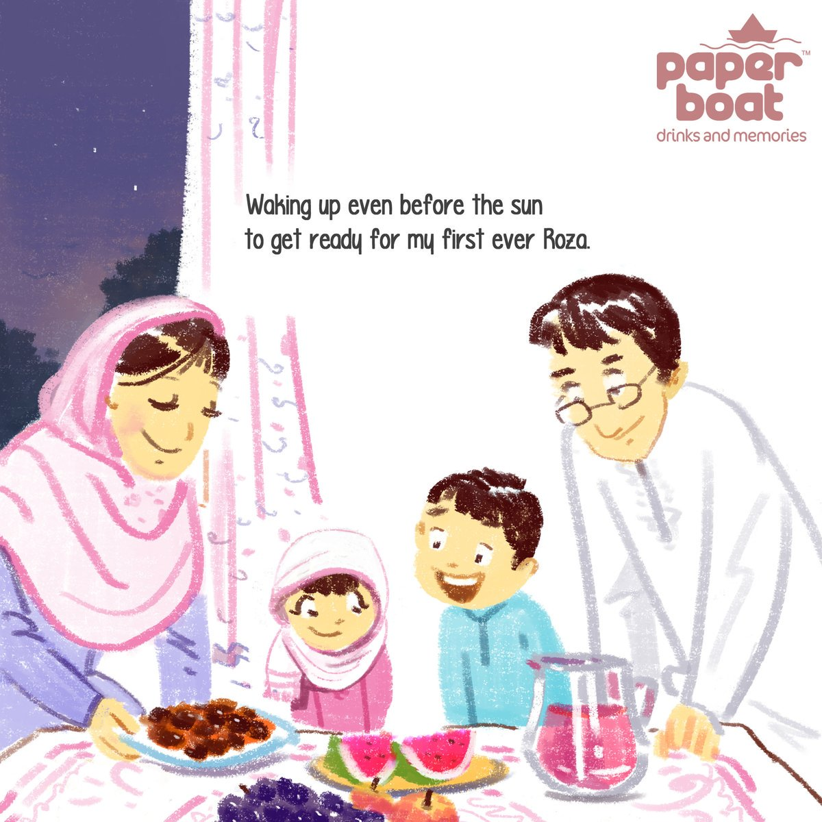 For a long time, haven't since any campaign celebrate #ramzan so beautifully. Wonderful, & thank u @paperboatdrinks! https://t.co/32s43hqZF0