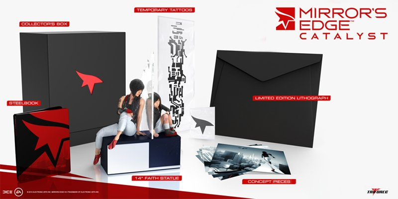 RETWEET for a chance to win a Mirror's Edge: Catalyst Collector's Edition! https://t.co/RTN9iHONPg