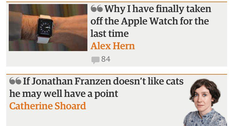 Guardian seems super extra guardian-y this morning https://t.co/HGyFGVkCKV