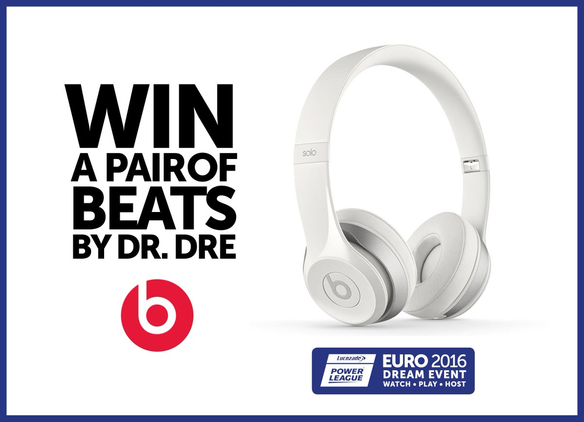The #Euro2016 Countdown is on and we're giving away a pair Beats Headphones! Just Follow and RT for a chance to #WIN https://t.co/0LDzk8aaz8