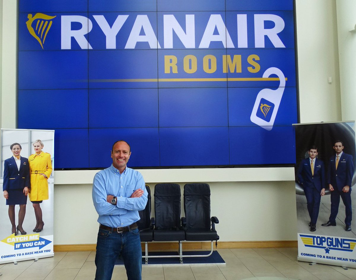 We've announced that we'll launch our new 'Ryanair Rooms' accomodation service, Oct 1st.