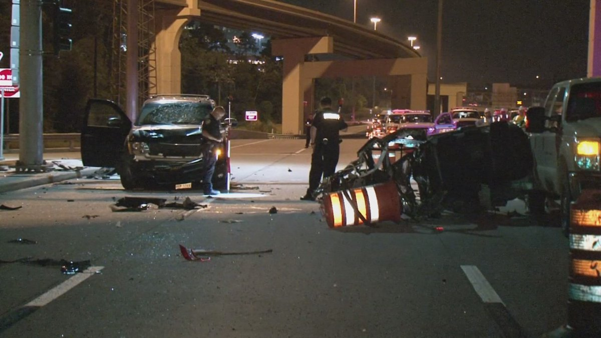 P Os Fatal Accident Along North Freeway At Grand Parkway Https T