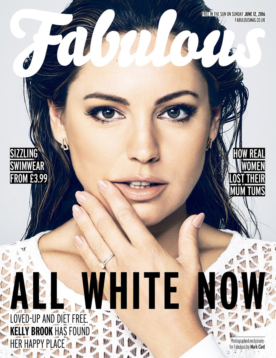 RT @UnitedAgents: Check out the stunning @IAMKELLYBROOK on the cover of @Fabulousmag, as she talks her new show #INMIY on @channel5_tv http…