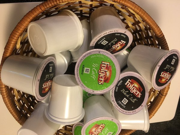I set up coffee bars with a variety of K-Cup pods , guests love it  #ButFirstFolgers https://t.co/ypVNPj7vHE