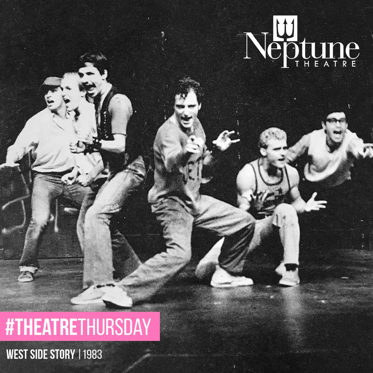 #TheatreThursday Throwback from our 1983 production of West Side Story - front and centre is @KimFCoates! #TBT #HFX https://t.co/3Dlmp3kpuc