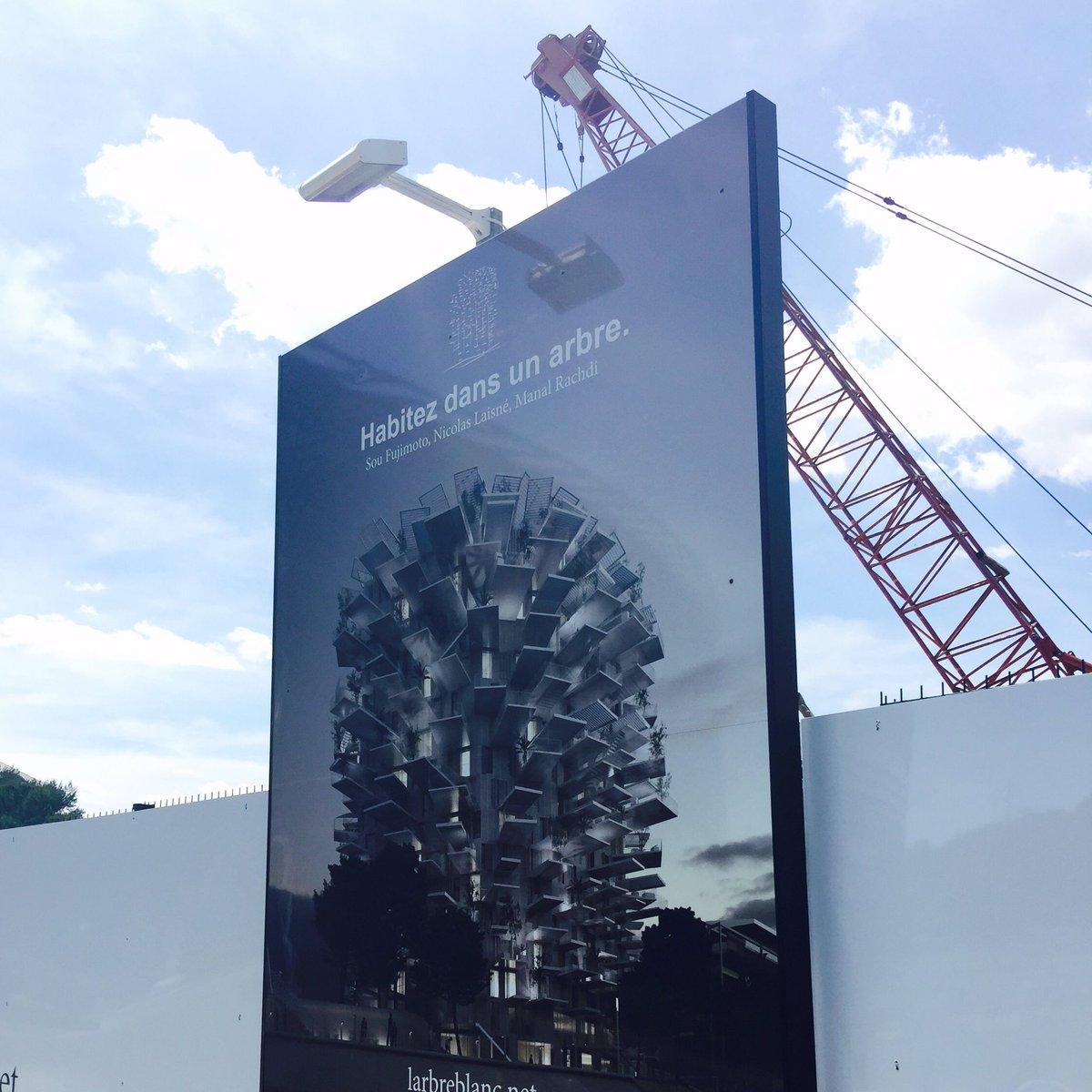 モンペリエの集合住宅、着工です https://t.co/oyzvu8c1HW