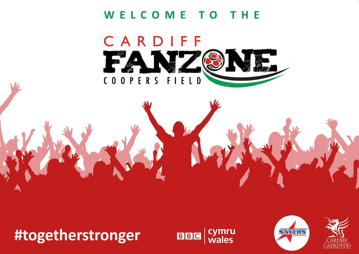 Watch the Wales #EURO2016 games at the #CardiffFanzone in #CoopersField https://t.co/75LQr6VAcR https://t.co/4ak9bb5Uyu