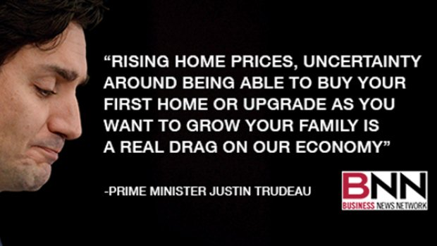 Uncertainty in housing market 'a real drag' on Canada's economy, @JustinTrudeau tells BNN https://t.co/N0T6SVCYAM https://t.co/UKsmE5JfXd