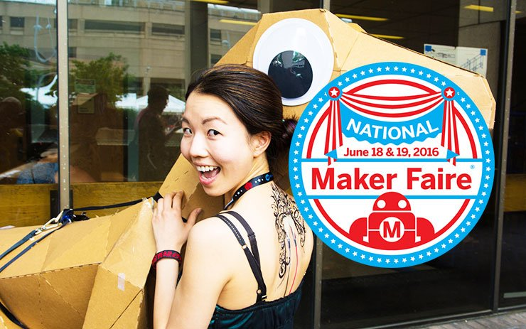 June 18-19, 2016, makers from across the US will convene in DC, at Maker Faire! @makerfaire https://t.co/E2e7doRXHI https://t.co/8R331rDXB4