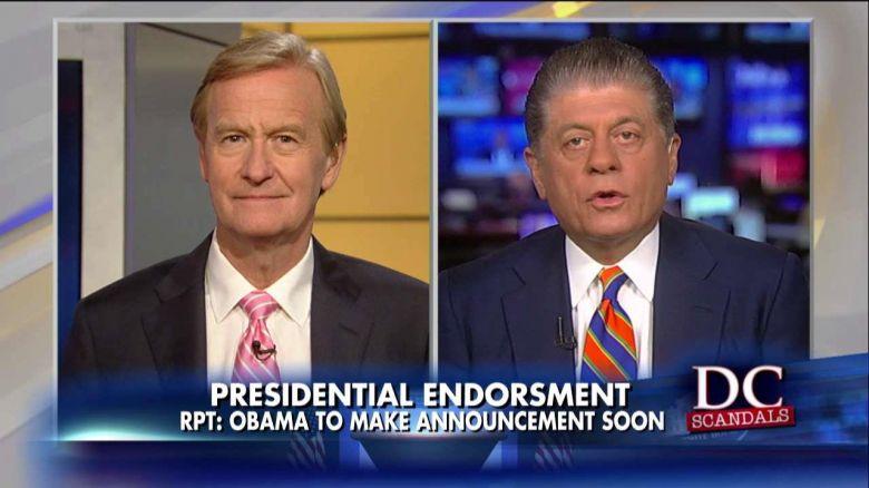 .@Judgenap: Major Conflict of Interest If Obama Endorses Hillary Amid FBIProbes @SteveDoocy  https://t.co/U4bzP0ndzO https://t.co/Q7NJvxADXy