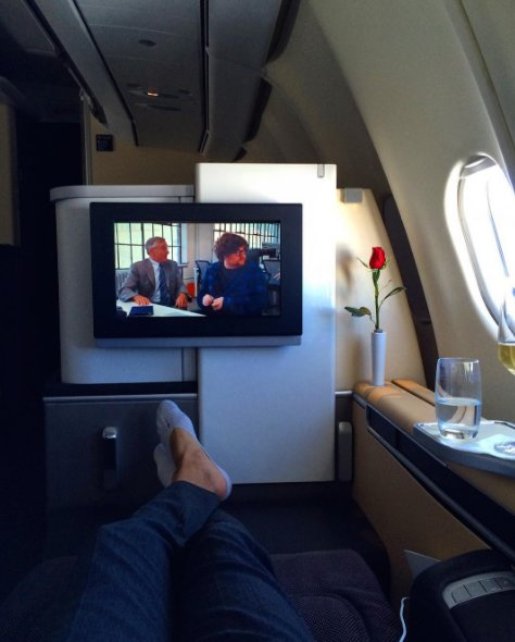 1 red rose 100+ great movie choices  1 fantastic flight Photo: