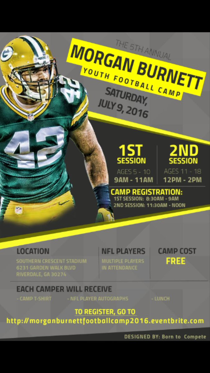 My 5th Annual FREE youth football camp is coming up soon on July 9th at Southern Crescen.... https://t.co/kHr1kGFrbv https://t.co/jdXG7w8Vnb