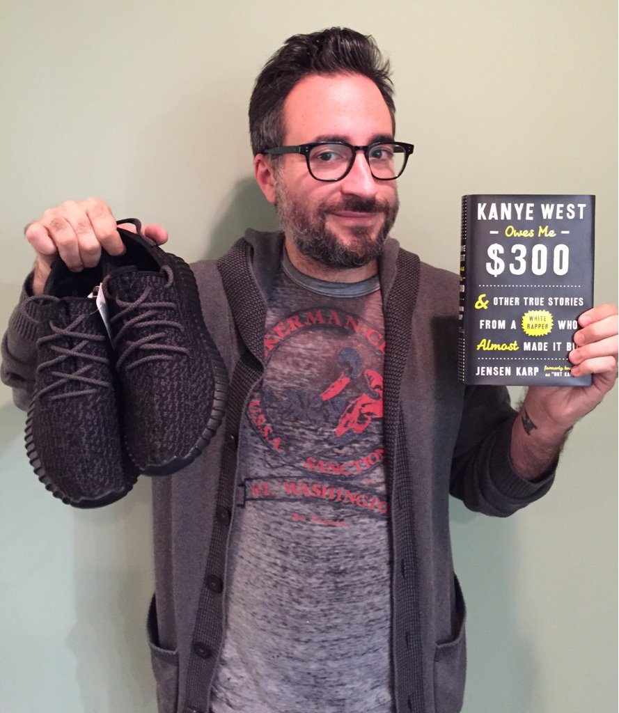 Last chance to RT this and win my new book & these Yeezys. Winner picked tonight. GOOD LUCK FRIEND. https://t.co/T340QGMwIx