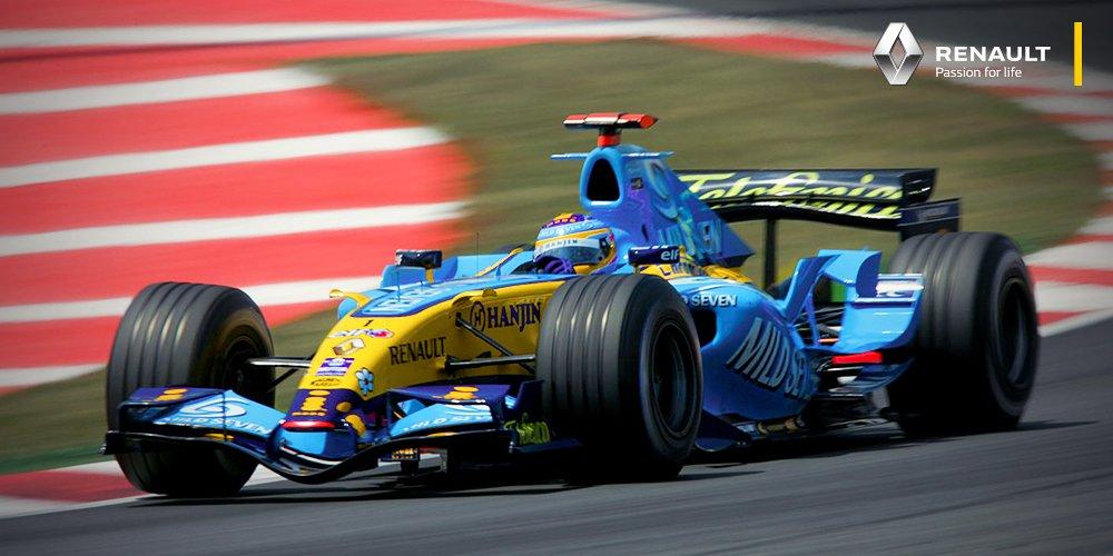 Este piloto asturiano ganó el #CanadianGP en el 2006. ¿Lo Reconoces? #RenaultSportF1 #JuntosAceleramosElCambio https://t.co/08hPVehyuz