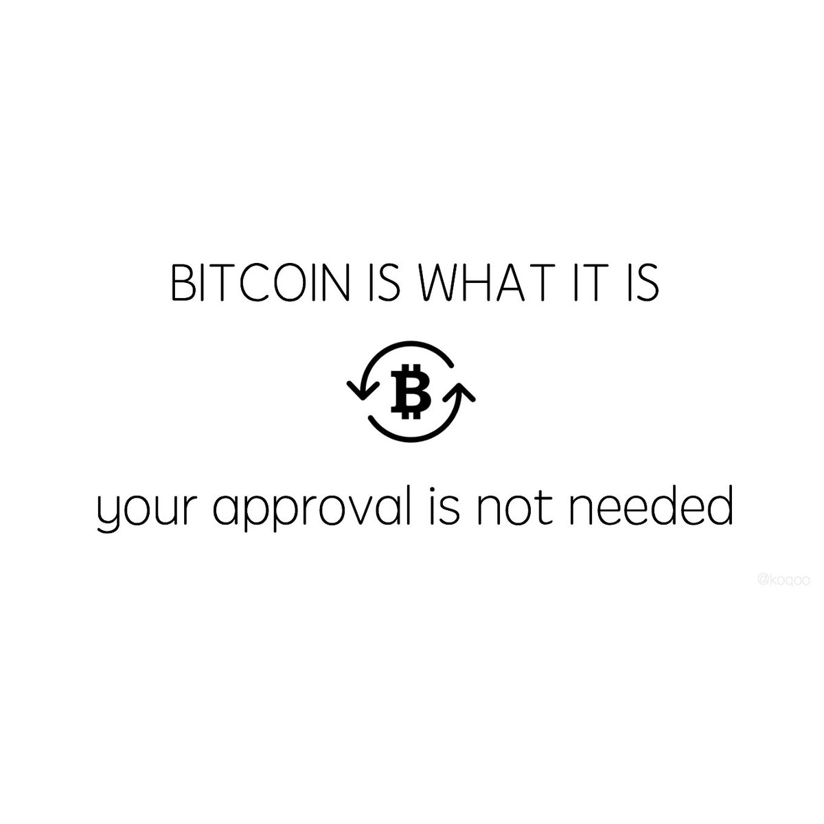 Just because you don't understand how #Bitcoin works, it doesn't mean that the explanation does not exist. #fintech https://t.co/9xjOtUcVmg