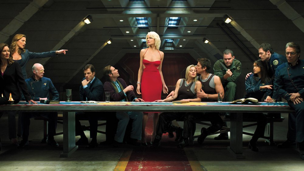 "BattlestarGalactica movie finds writer in Lisa Joy, eyes ""Hunger Games"" director"