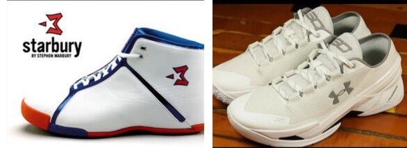 New Rule: Dudes named Steph shouldn't get their own sneaker. #Curry2 #Starbury https://t.co/aRzuvireEg