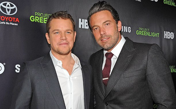 Ben Affleck shared the most adorable TBT photo with Matt Damon: 😄