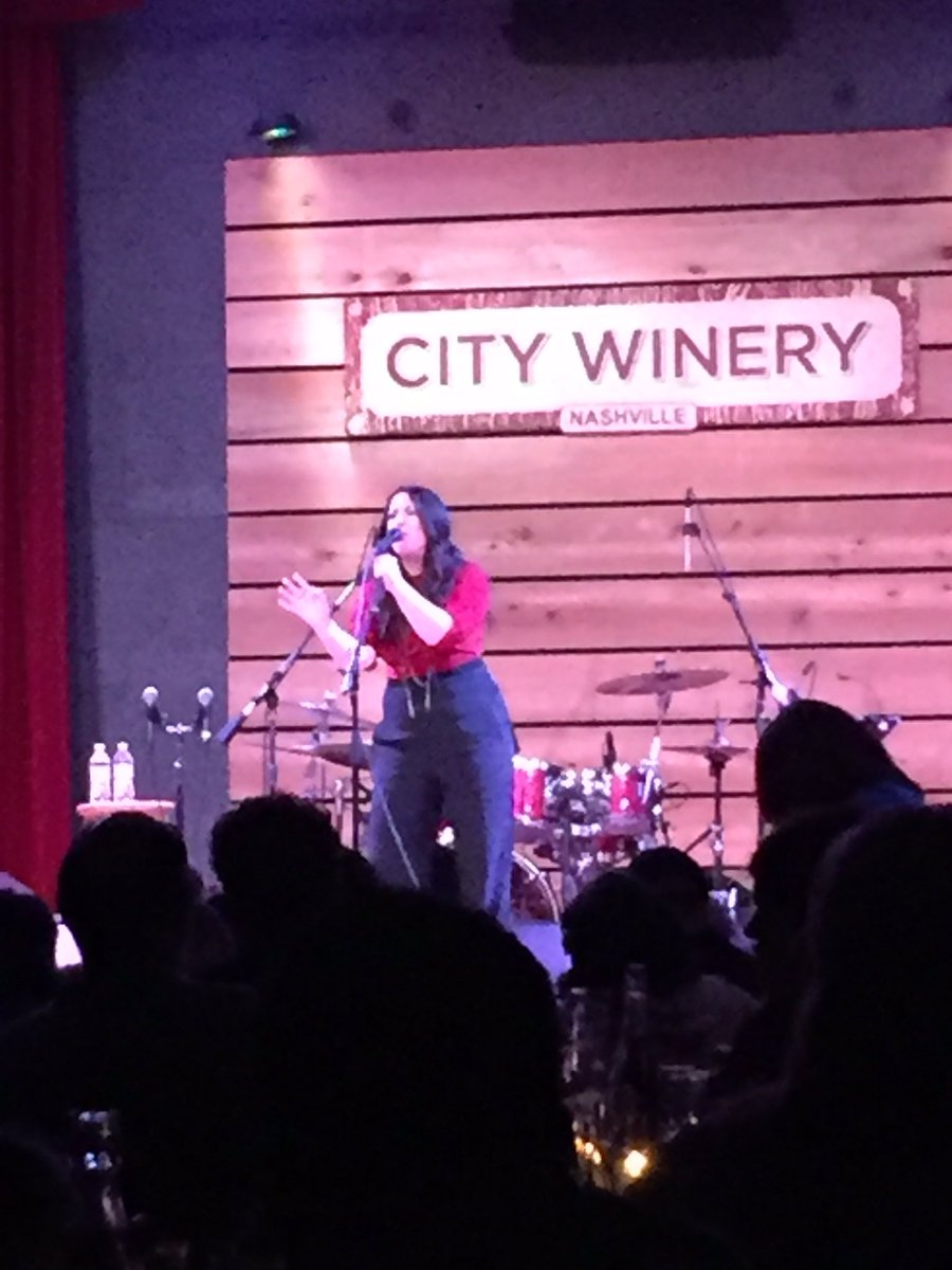 Love me some @kreeharrison!! Singing her face off at City Winery Nashville #CMAFest https://t.co/nLzVWGh5Ku