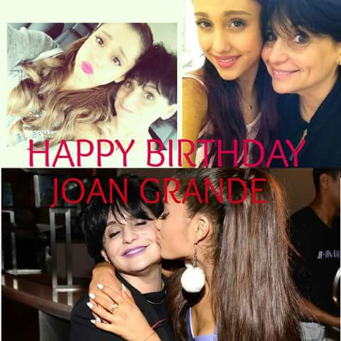 HAPPY BIRTHDAY, !  THANK YOU AND YOUR EX-HUSBAND FOR MAKING ARIANA GRANDE A GREAT WOMAN