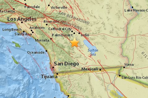 Magnitude-5.2 #earthquake 21.0 km (13.0 mi) N of Borrego Springs, #California, @USGS reports. https://t.co/WfmgcxmsOG