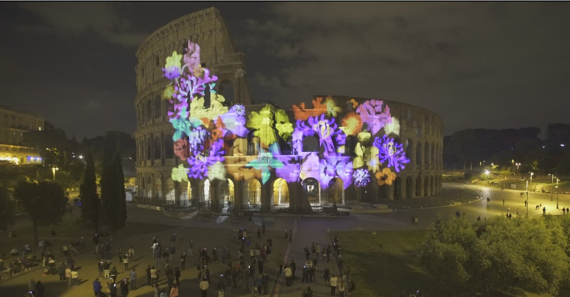 To mark 150 years of Diplomatic ties between Japan and Italy, we lit up the Colosseum https://t.co/70vfjNZFiW https://t.co/0mRa8fM0Ik