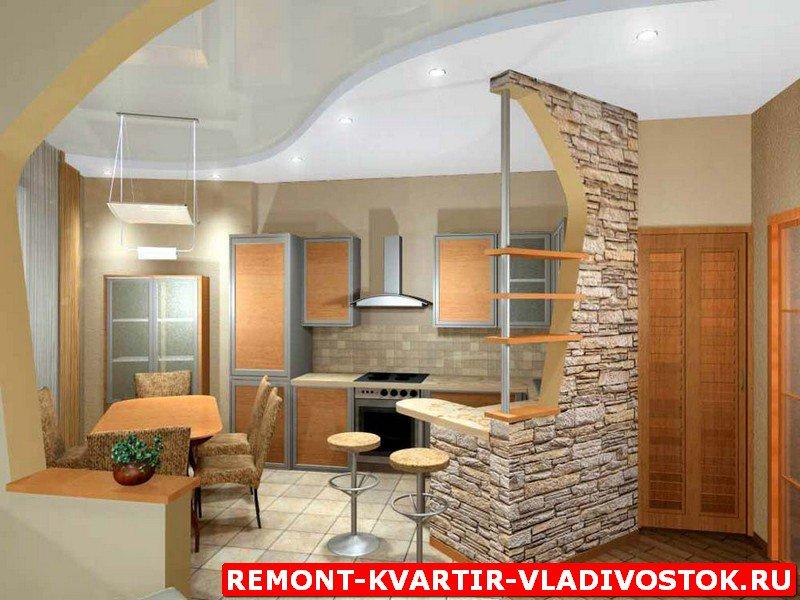 Интерьер кухни и гостиной своими руками фото 51