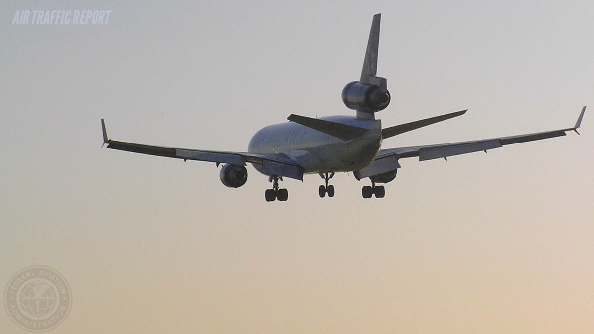 ✈ Traffic Report: Wind delays BOS to DC; Storms @ MSP, ORD, MDW, MIA; Clouds @ LAX, SAN, SFO