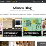 Mimeo: Have you seen our brand new #blog? Insight for Thought Leaders L&D Professionals & Marketers … https://t.co/PQXnPCWtrX