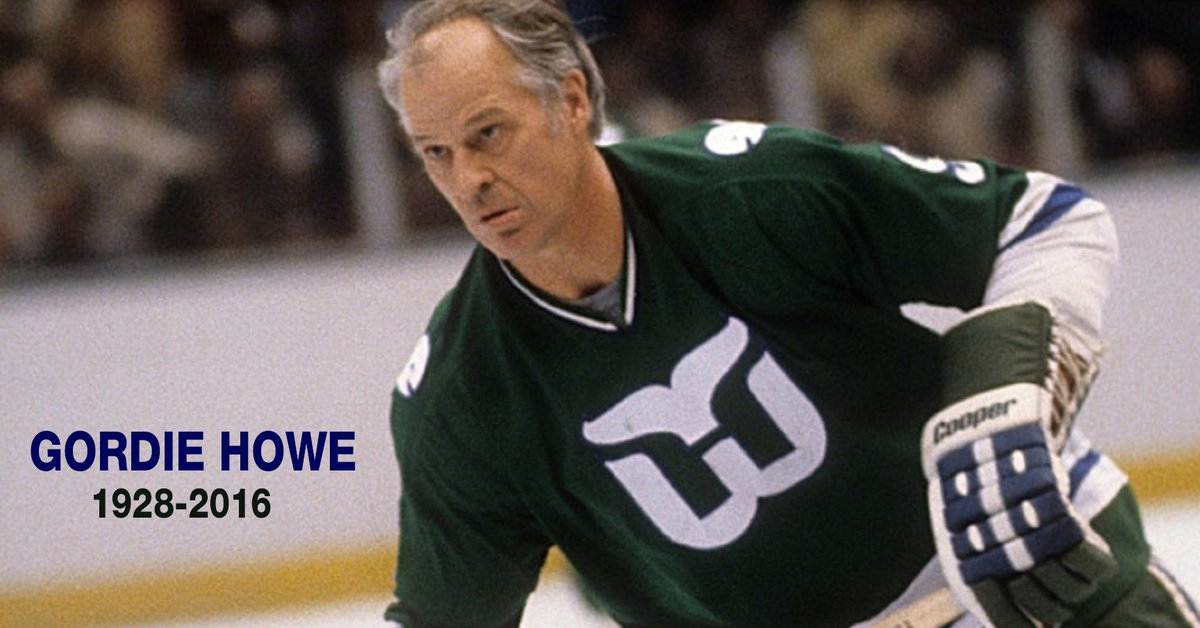 A sad day for the entire hockey community. Rest in peace, Gordie. Skate in peace, Mr. Hockey. https://t.co/ck9YvRNVgq
