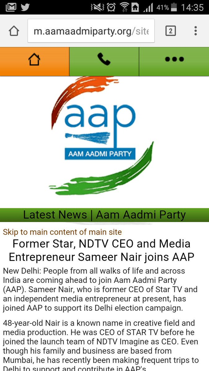 Sameer Nair is also former CEO NDTV @TajinderBagga https://t.co/q6tD9XAB1J https://t.co/bXKv9zy3SI