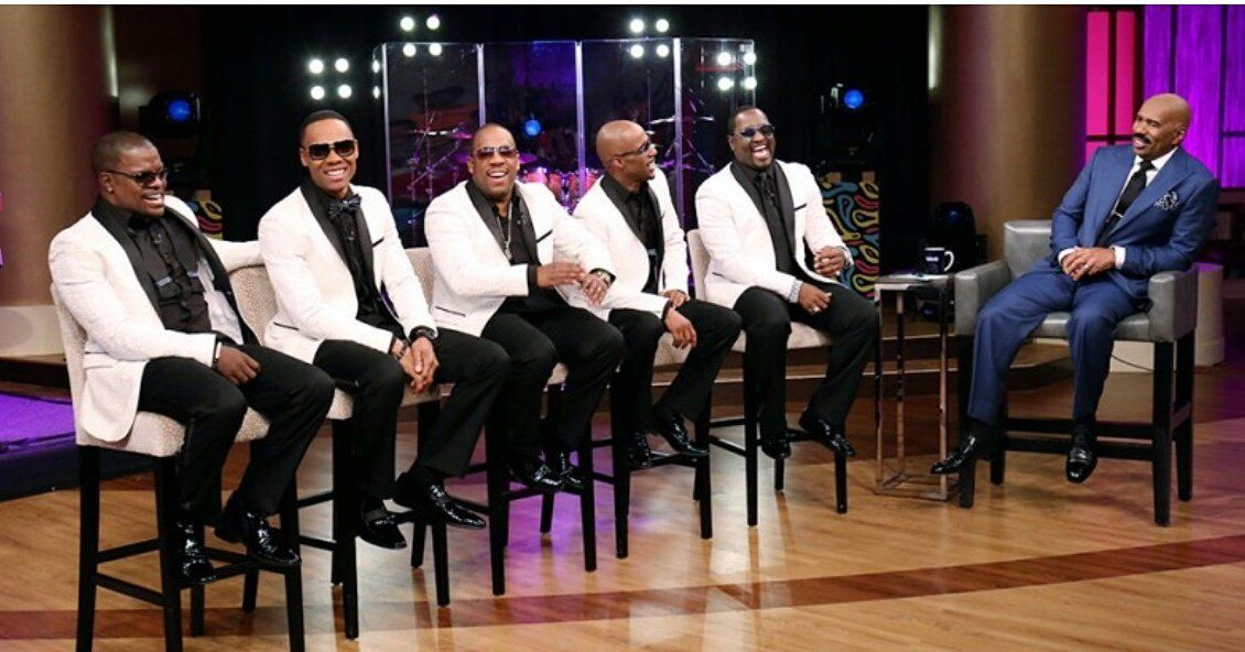 #NewEdition on @IAmSteveHarvey show Monday 6/13. Check local listings for time in your area. Please share! #NE4LIFE https://t.co/5NcUZUS7ZD