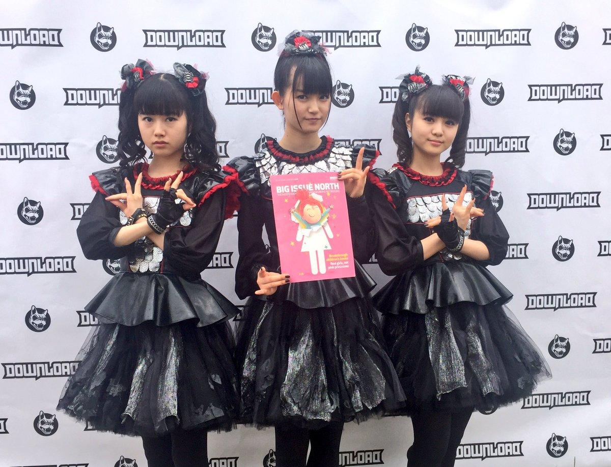 We are at @DownloadFest this weekend & we just met the awesome @BABYMETAL_JAPAN https://t.co/i2BMt2w3dy
