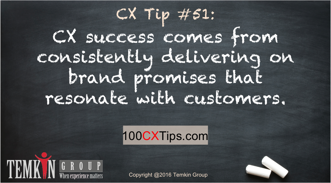 #CX success comes from consistently delivering on brand promises that resonate w/ customers https://t.co/H6YojrP6Hf https://t.co/08R2iCp0ZO