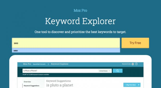 . @larrykim recently test drove the @Moz Keyword Explorer. See his thoughts: https://t.co/nbt5mfPYjL https://t.co/Y3mb7gFDbm