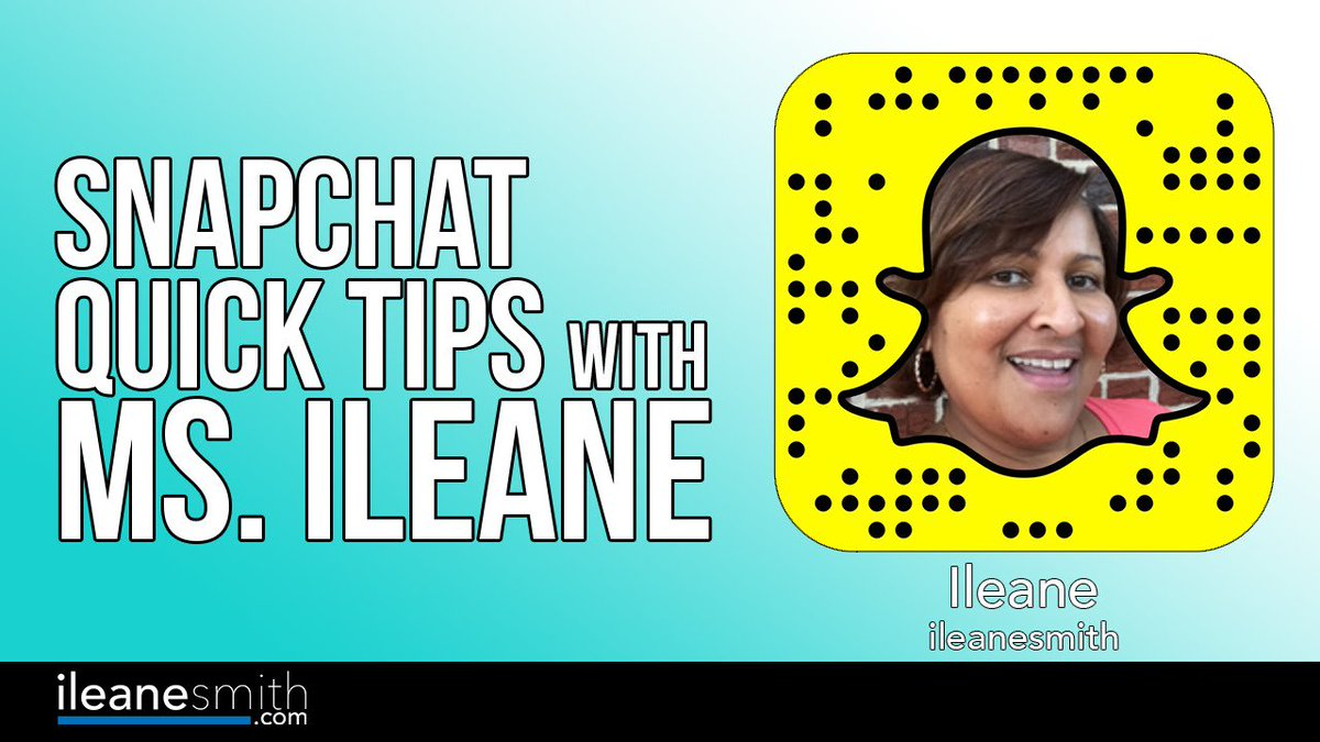 NEW! Snapchat for Seniors! Quick tips for growing your following on #Snapchat [Video] https://t.co/KVayKYeuHa #SMM https://t.co/MuDuojJscE