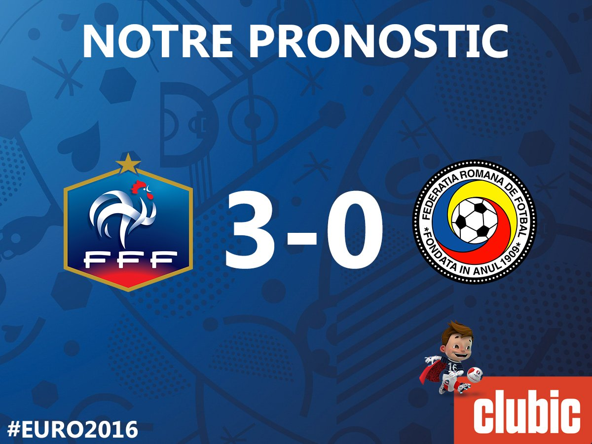 Clubic pronostique 3-0 pour la #France ! Et vous ? ⚽📺🎉 https://t.co/UjTmPCNTgJ