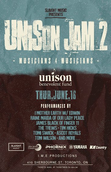 This lineup is too great to miss! Join us June 16th for Unison Jam 2! Tickets ---> https://t.co/ovjacv7VlM https://t.co/vWntgTRbTZ