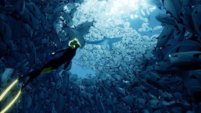 """""""風ノ旅ビト""""のMatt Nava氏が開発を率いる海洋アドベンチャー「Abzû」の素敵なゲームプレイ映像がお披露目、発売は今夏予定 - https://t.co/jCOnPbrzGP https://t.co/lgDHmLmd35"""
