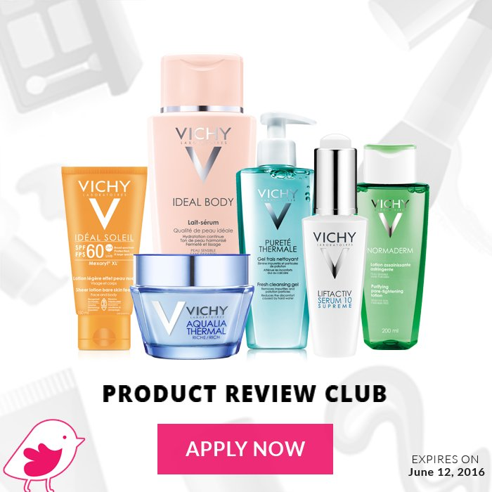 Tell your friends, aunts, mom, cousins and sister to apply for #VichyWorksForMe by Sunday! https://t.co/gAzUVSuC4s https://t.co/N622rOBV23