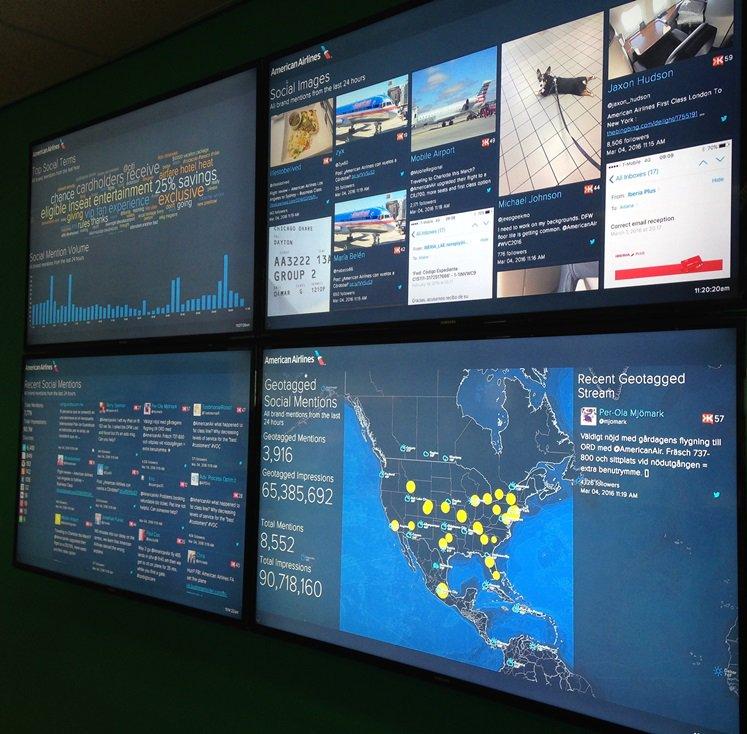 RT @AirwaysNews: A prettyamazing visit to @AmericanAir Social Media Hub