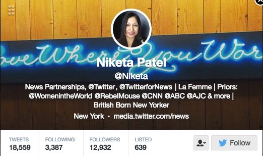 Adore learning from @Niketa of @twitter @TwitterForNews through #smwknd shares! thx @sree @smwknd https://t.co/zl28LSpej5