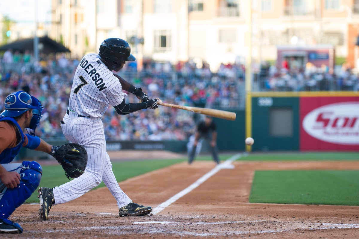 Good luck, Tim! With a .304 BA, a league-best 75 hits & 25 multi-hit games, Tim Anderson is promoted to @whitesox! https://t.co/Q8yhh3degB