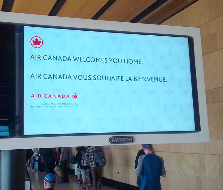 Welcome home Fort McMurray! @FlyYMM flights resume today.