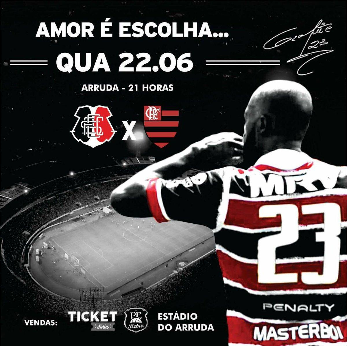 Atenção tricolor ! Começamos a divulgação pro jogo Santa X Flamengo ! Chegou a hora de chegar junto ! https://t.co/dgYVsGWC0f