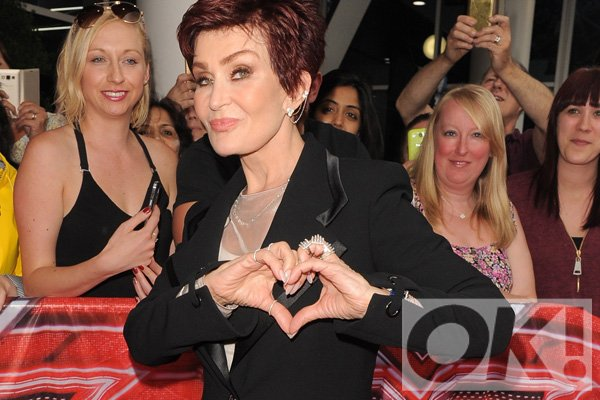 X Factor judge Sharon Osbourne snapped with what could be new wedding ring: